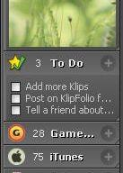 Sidebar для XP - Klip Folio