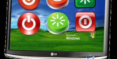 Кнопки выключения и перезагрузки для Windows