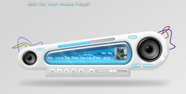 Abstract Skin for Xion Player