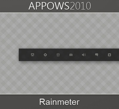 APPOWS2010 - Rainmeter