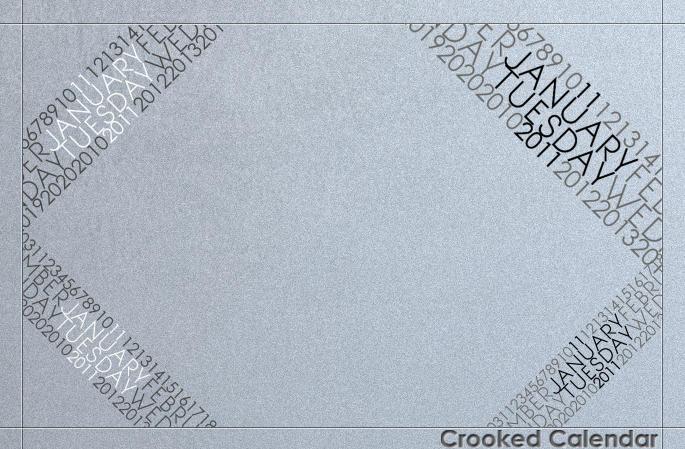 Crooked Calendar