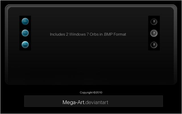 2 Windows 7 Start Buttons
