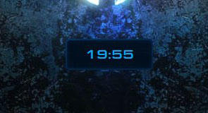 StarCraft 2 Clock