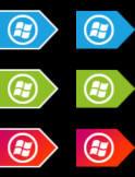 Microsoft Metro Start Orbs