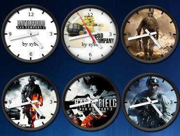 Battlefield Clock