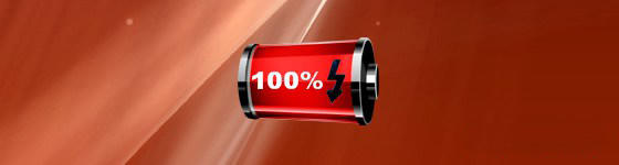 Red Battery Gauge