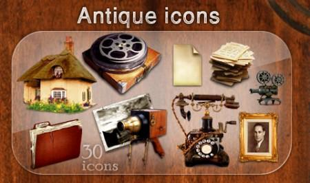 Antique icons