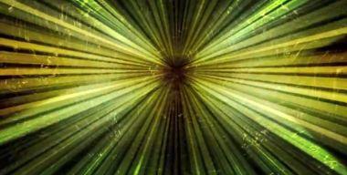 Желтые лучи