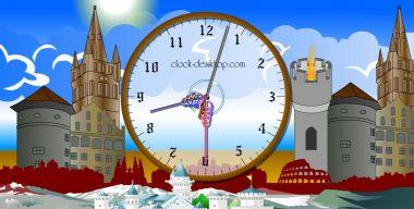 Castle Clock ScreenSaver v.2.3