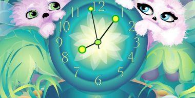 Alien Pets' Clock ScreenSaver v.2.3