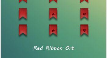 Red Ribbon Orb