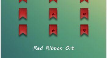 Red Ribbon Orb