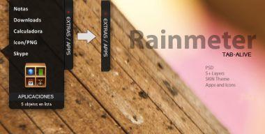 TAB-Alive Rainmeter