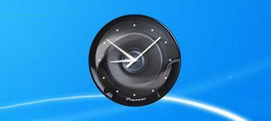Pioneer Clock