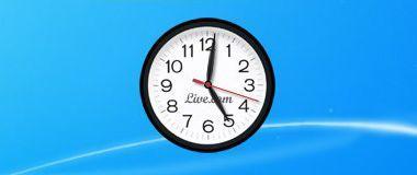 Часы LiveClock