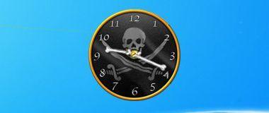 Pirat Clock