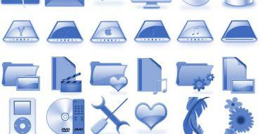 Blueberry Icons