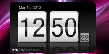 HTC Flip Clock