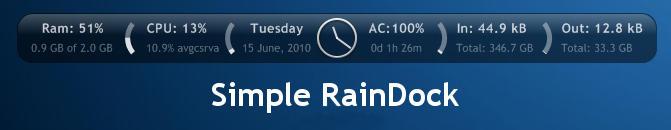 Simple RainDock