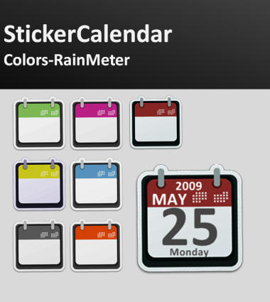 StickerCalendar Colors