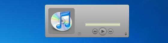 iTunes Sidebar Gadget