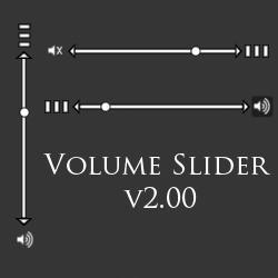 Volume Slider v2.00
