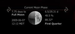 SGT Splicer's HUD Moon Phase