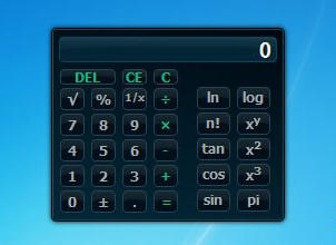 Vista Calculator