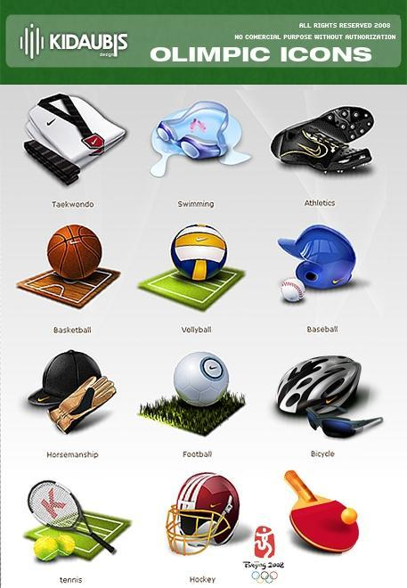 Olimpic Games Icons