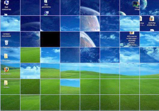 Shuffle Desktop Screensaver 1.0