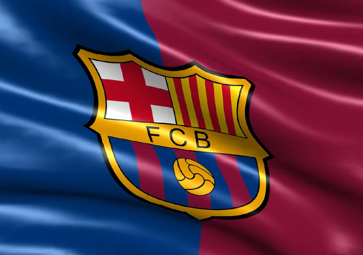 Фото флага клуба барселона