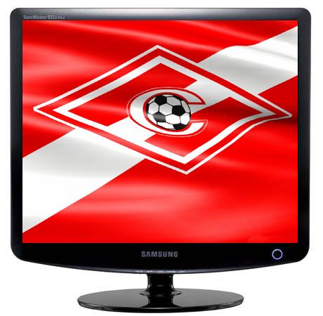 Флаг футбольного клуба Спартак