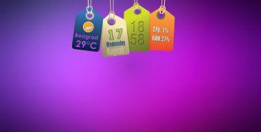 Hanging Tags Rainmeter