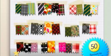 Fabric Swatch Start Orbs