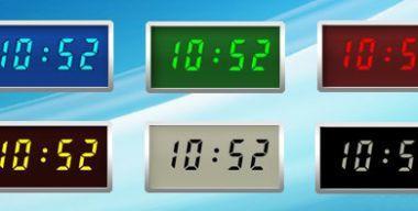 Relogio Azul Clock