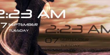 Simple Clock & Date