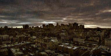 Дождь над городом