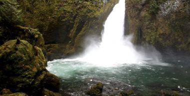 Водопад в пропасти
