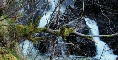 Водопад в природе
