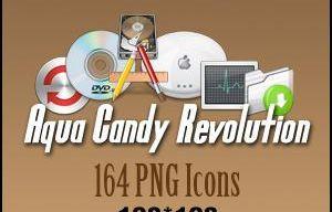 Aqua Candy Icons