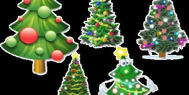 Animated Christmas Tree for Desktop - 2011