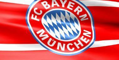 Флаг футбольного клуба Байер