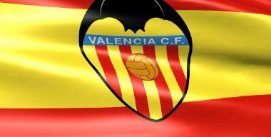 Флаг футбольного клуба Валенсия