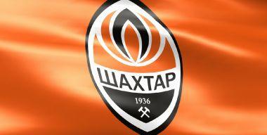 Флаг футбольного клуба Шахтёр