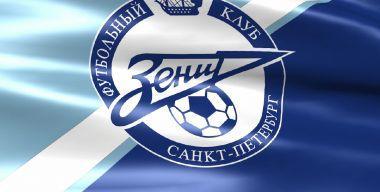 Флаг футбольного клуба Зенит