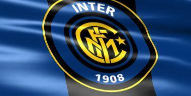 Флаг футбольного клуба Интер