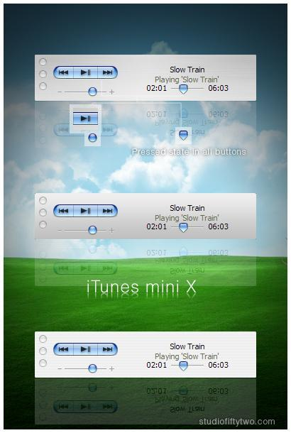 iTunes mini X for WMP