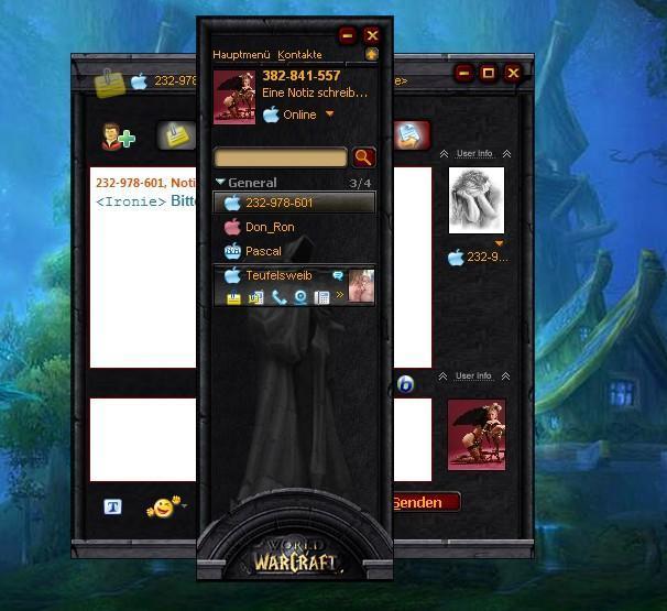 World of Warcraft ICQ 6