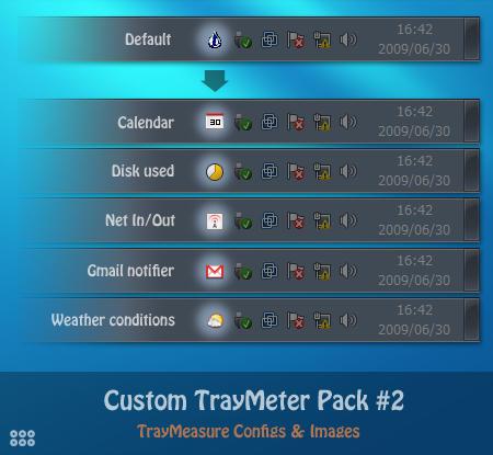 Custom TrayMeter Pack #2