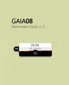 GAIA08 rainmeter  2